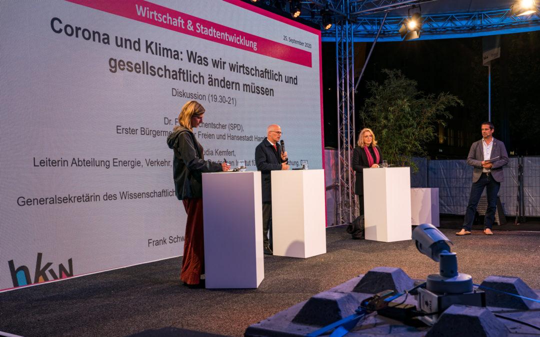 Diskussion Prof. Kemfert Prof. Göpel Dr. Tschentscher 25.09.2020